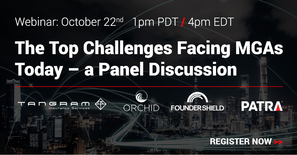 Register Now - The Top Challenges Facing MGAs Today