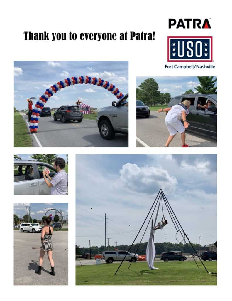 USO Fort Campbell/Nashville Warrior Summer and 4th of July drive-through carnival